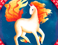 #078 Rapidash - Peruvian Pokedex project