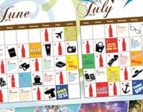 Calendar for Coca-Cola Cruise
