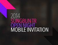2014 SUNGBUN TR MOBILE INVITATION