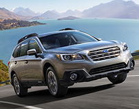 SUBARU GLOBAL OUTBACK 2014 | CGI