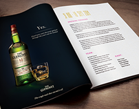 The Glenlivet | Print Ad Proposal