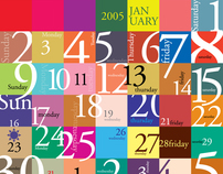 'Mosaic of Life' Calendar