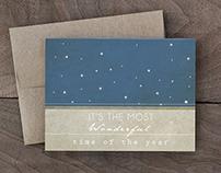 Minimal Christmas cards