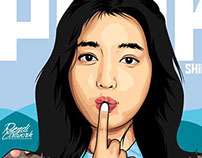 park shin hye in Vector