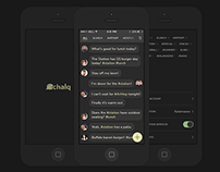 Chalq - Local Chat App
