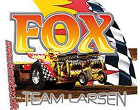 Team Fox illustrations - Tractor Pulling