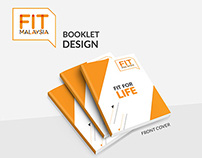 Idea & Direction for Fit Malaysia Booklet Design