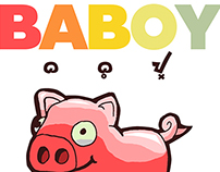 BABOY: Filipino word for 'Pig'