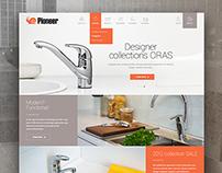 «Pioneer» plumbing store