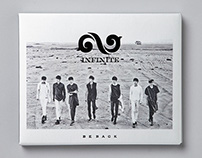 INFINITE - BE BACK album art direction & design