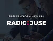 Radiohouse  - logo design concept