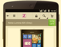 Ecommerce Mobile Site & Corporate Website UX, UI Zoffio