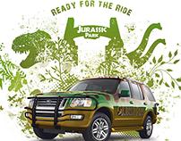 Ford Explorer Jurassic Park
