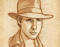 Anthony Ingruber as Indiana Jones.