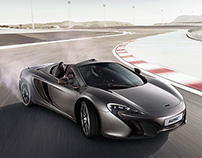 McLaren 625C - Automotive Retouching
