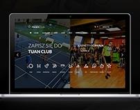 Sports Club & SPA website