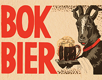 Product packaging for Bavaria's bock beer