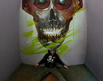 Skull in studio