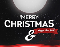 Christmas Youtube banner