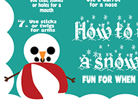 How to Make a Snowman | Visual Skill Aid