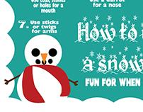 How to Make a Snowman   Visual Skill Aid