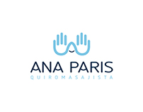 Identidad Visual Corporativa Ana Paris Quiromasajista
