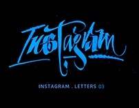 INSTAGRAM Letters 03