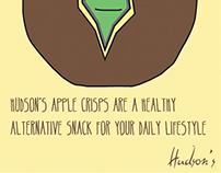 Hudsons Non Potato Crisps   Advertising Campaign