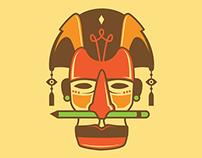 Kijamii's African Tribal Masks