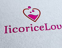 Licorice Love Logo Template