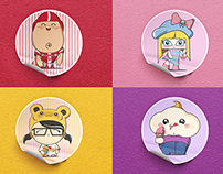 Babybel Stickers