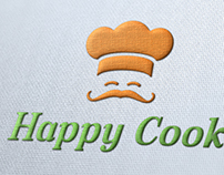 Happy Cook Logo Template