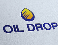 Drop Oil Logo Template