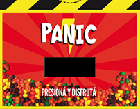 Packaging golosina - Panic