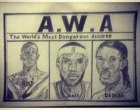 A.W.A athlete