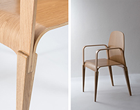 The new construction method for wooden furniture