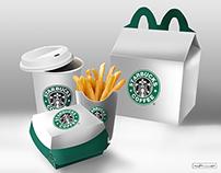 Mockup semântico Starbucks