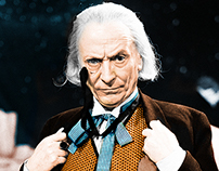 Colouring the First Doctor