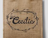 Dona Cecília - Identidade Visual e rótulo