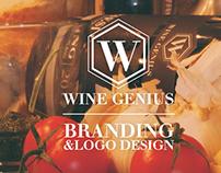 WINE GENIUS - Logo & Branding design