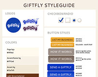 Styleguide :: GiftFly
