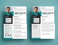 Business Cv/Resume And Cover Letter.
