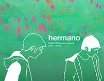 "Afiche cortometraje ""Hermano"""