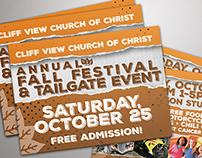 Fall Festival Handout Postcards