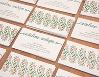 Catalina Restrepo- Business Cards and Signage Design