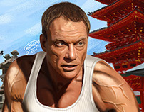 Jean-Claude Van Damme | Digital Painting