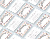 Business Cards and recipe sheets - Dr. Lina M. Zapata
