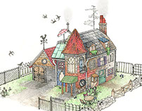 Mismatched House