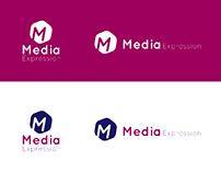 Media Expression Logo Concepts