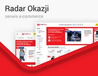 RadarOkazji - e-commerce